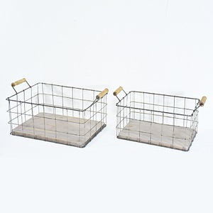 High Quality Metal Bakery Bread Wire Basket for Shop