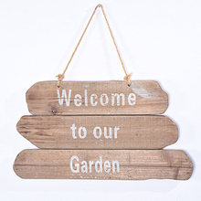 Vintage Farmhouse Wooden Garden Signs