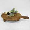 Rustic Cheese Board Decoratiive Flower Stand