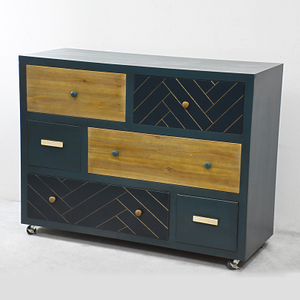 Europe Style Unique Antique Solid Wood Furniture Chest Of Drawers