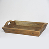 Narrow Unique Rustic Vintage Style Reclaimed Wood Tray
