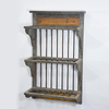 Unique Design Shabby Chic Reclaimed Wood Wall Kitchen Plate Rack