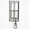Metal Wire Wall Mount Shower Rack Bathroom Accessories Organizer Kitchen Wall Hanging Shelf Storage Rack Holders With Hooks