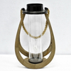 Luckyiwnd Farmhouse Decor Natural Wood Candle Lantern